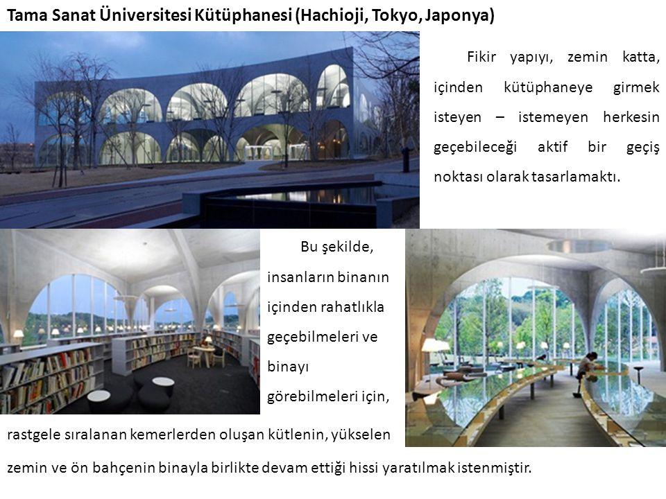 Tama Sanat Üniversitesi Kütüphanesi (Hachioji, Tokyo, Japonya)