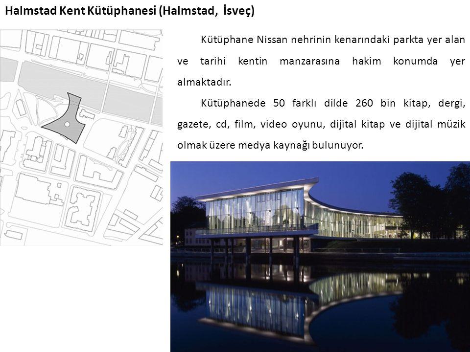 Halmstad Kent Kütüphanesi (Halmstad, İsveç)