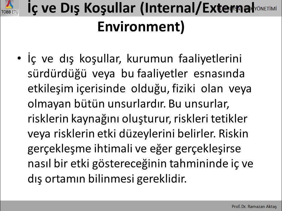 İç ve Dış Koşullar (Internal/External Environment)