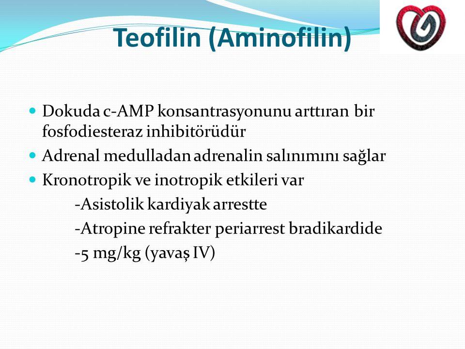 Teofilin (Aminofilin)
