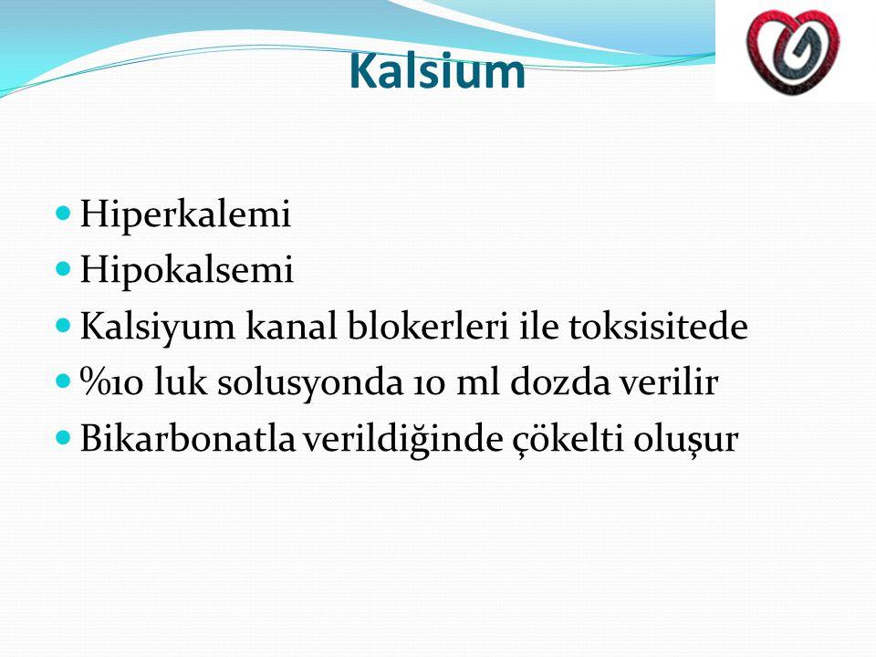 Kalsium Hiperkalemi Hipokalsemi