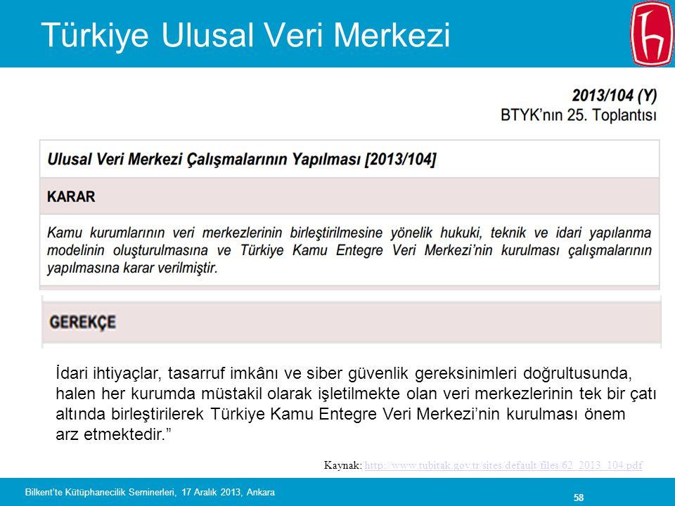 Türkiye Ulusal Veri Merkezi
