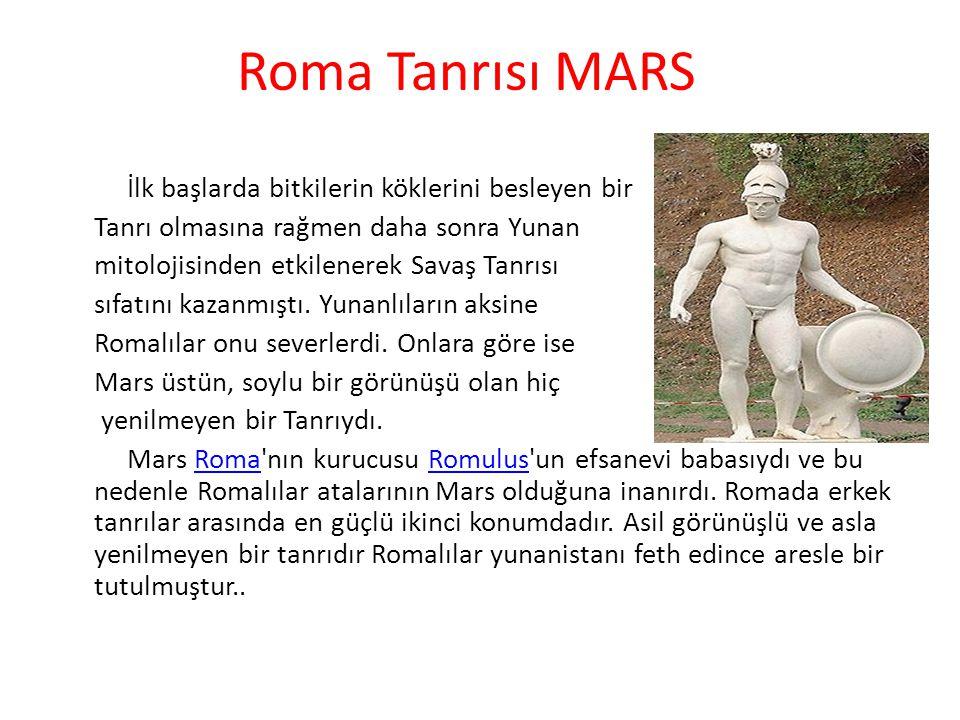 Roma Tanrısı MARS