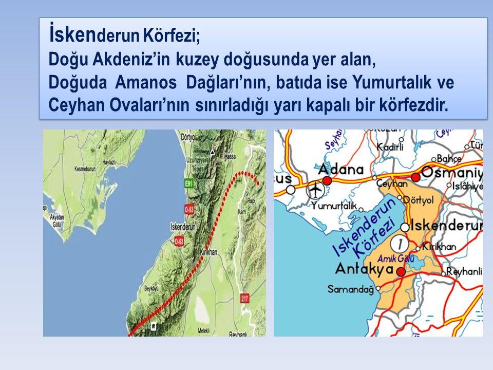 İskenderun Körfezi; Doğu Akdeniz'in kuzey doğusunda yer alan,