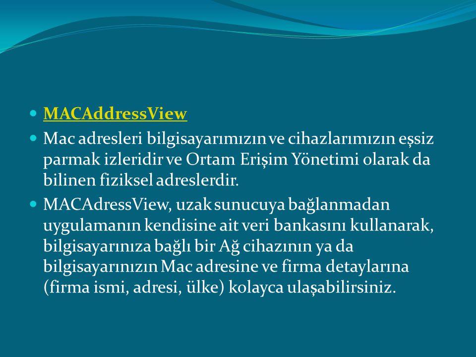 MACAddressView