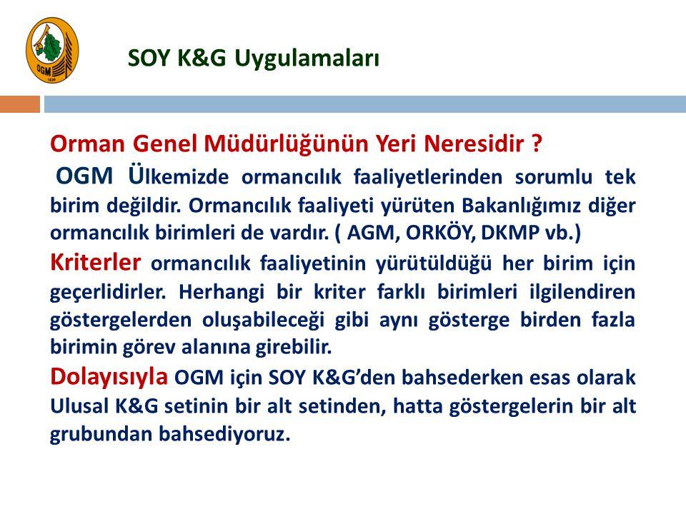 SOY K&G Uygulamaları Orman Genel Müdürlüğünün Yeri Neresidir
