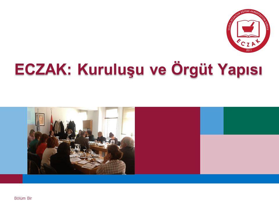 ECZAK: Kuruluşu ve Örgüt Yapısı