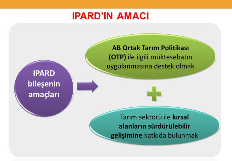 IPARD'IN AMACI