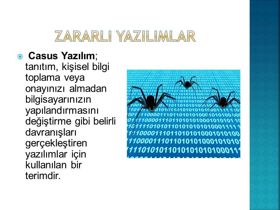 ZARARLI YAZILIMLAR