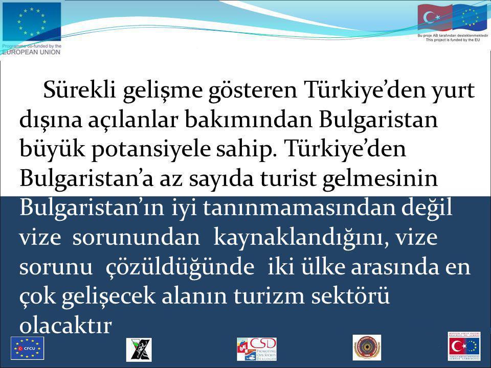 Sürekli gelişme gösteren Türkiye'den yurt dışına açılanlar bakımından Bulgaristan büyük potansiyele sahip.