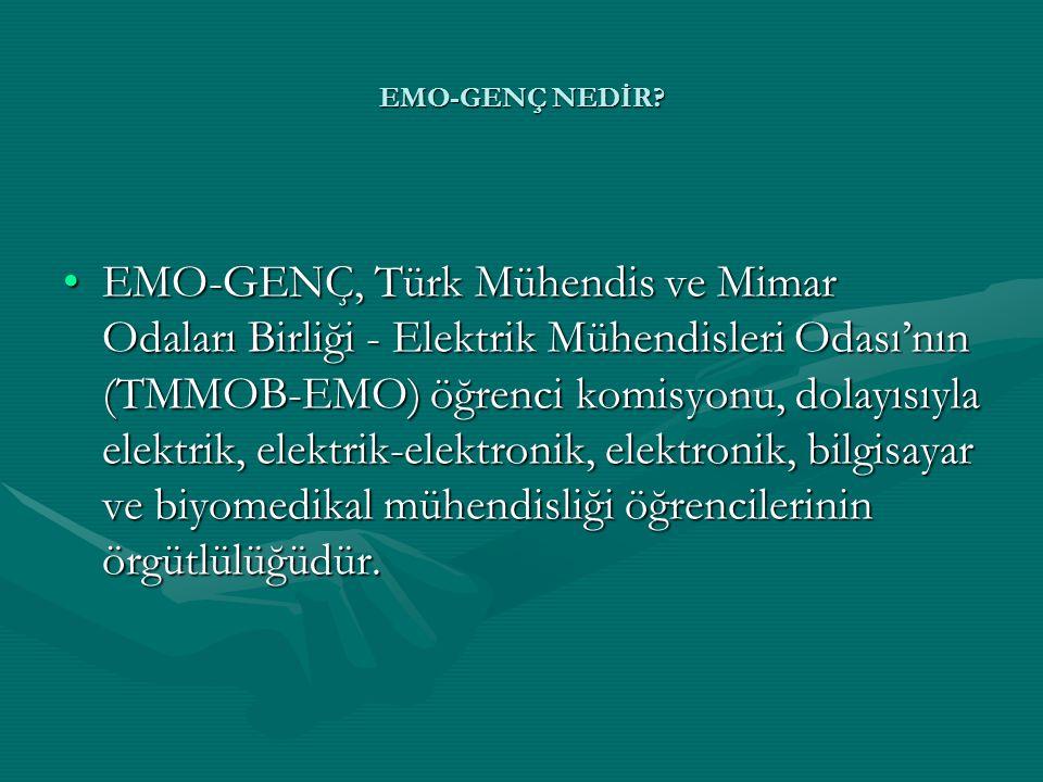 EMO-GENÇ NEDİR