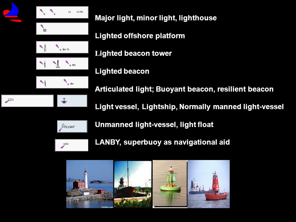 Major light, minor light, lighthouse