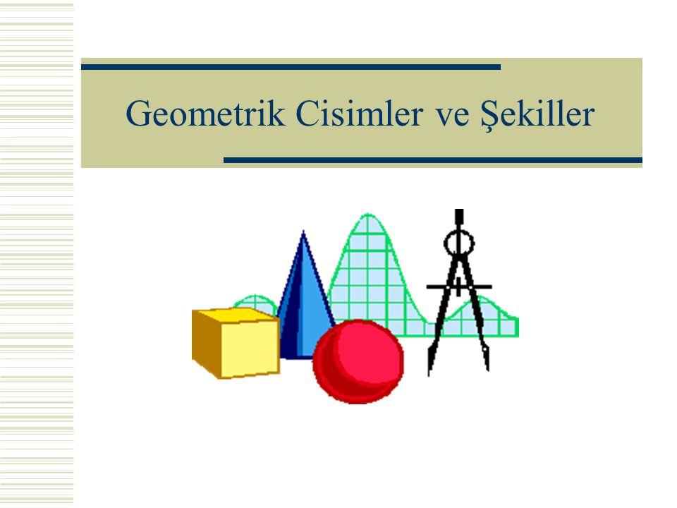 Geometrik Cisimler ve Şekiller