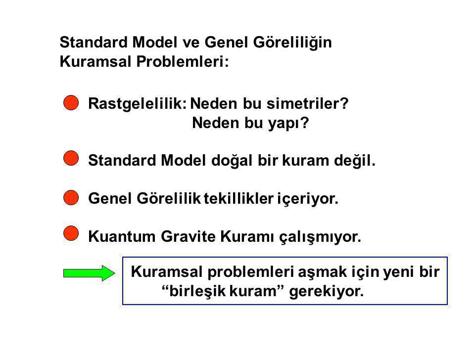 Standard Model ve Genel Göreliliğin