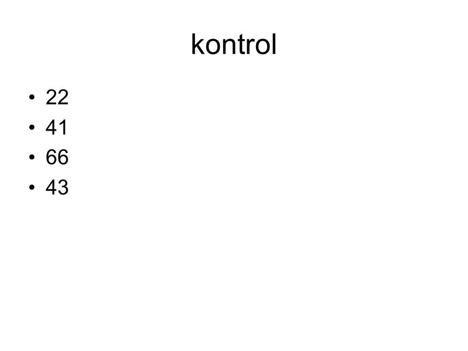 kontrol 22 41 66 43