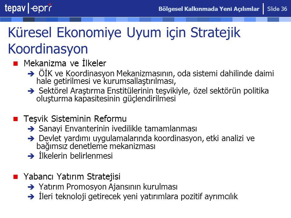 Küresel Ekonomiye Uyum için Stratejik Koordinasyon