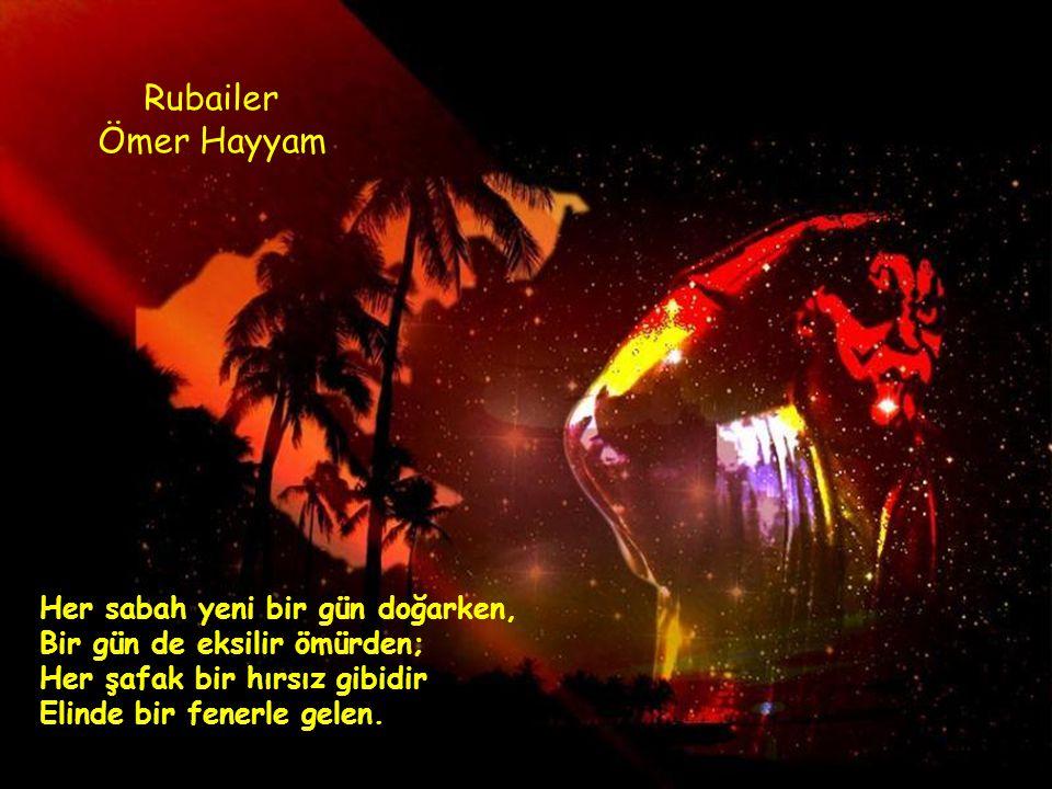 Rubailer Ömer Hayyam.