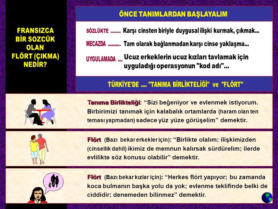ÖNCE TANIMLARDAN BAŞLAYALIM
