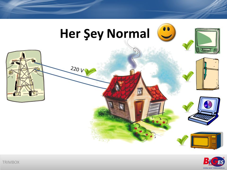 Her Şey Normal 220 V TRIMBOX
