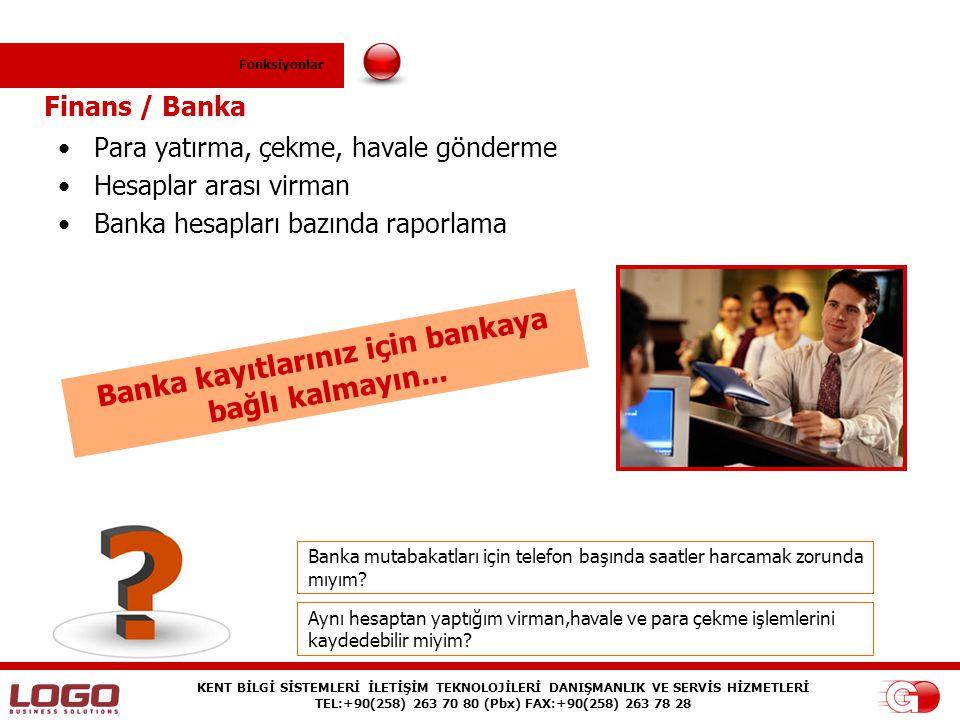 Banka kayıtlarınız için bankaya bağlı kalmayın...
