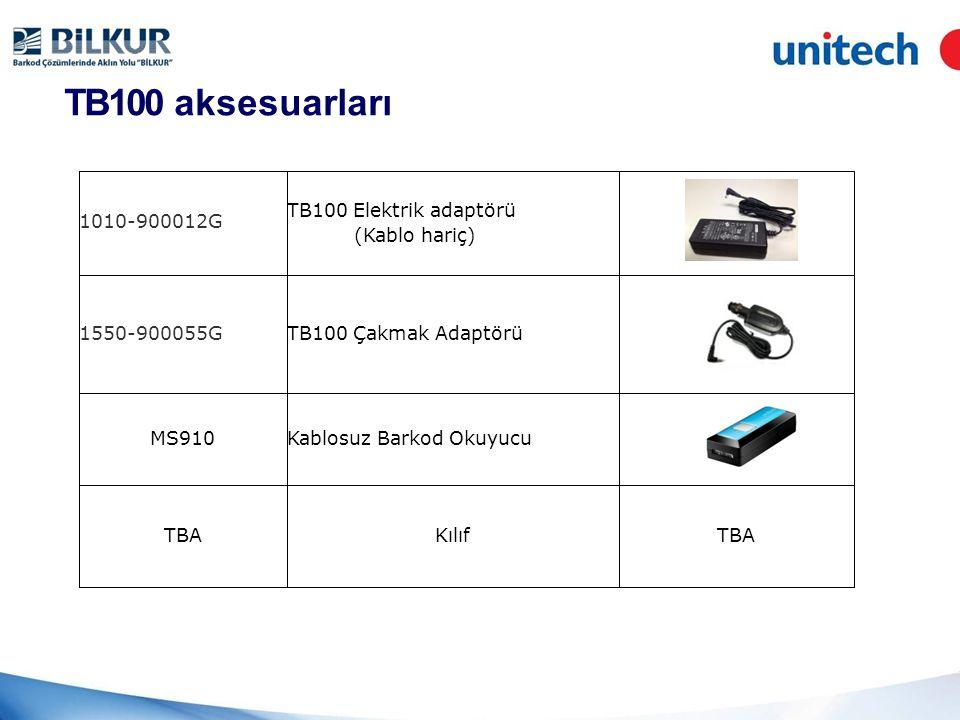 TB100 aksesuarları 1010-900012G TB100 Elektrik adaptörü (Kablo hariç)