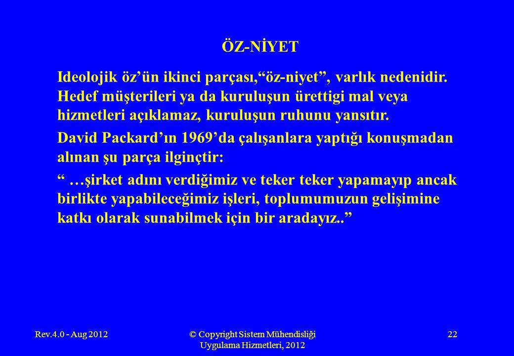 © Copyright Sistem Mühendisliği Uygulama Hizmetleri, 2012