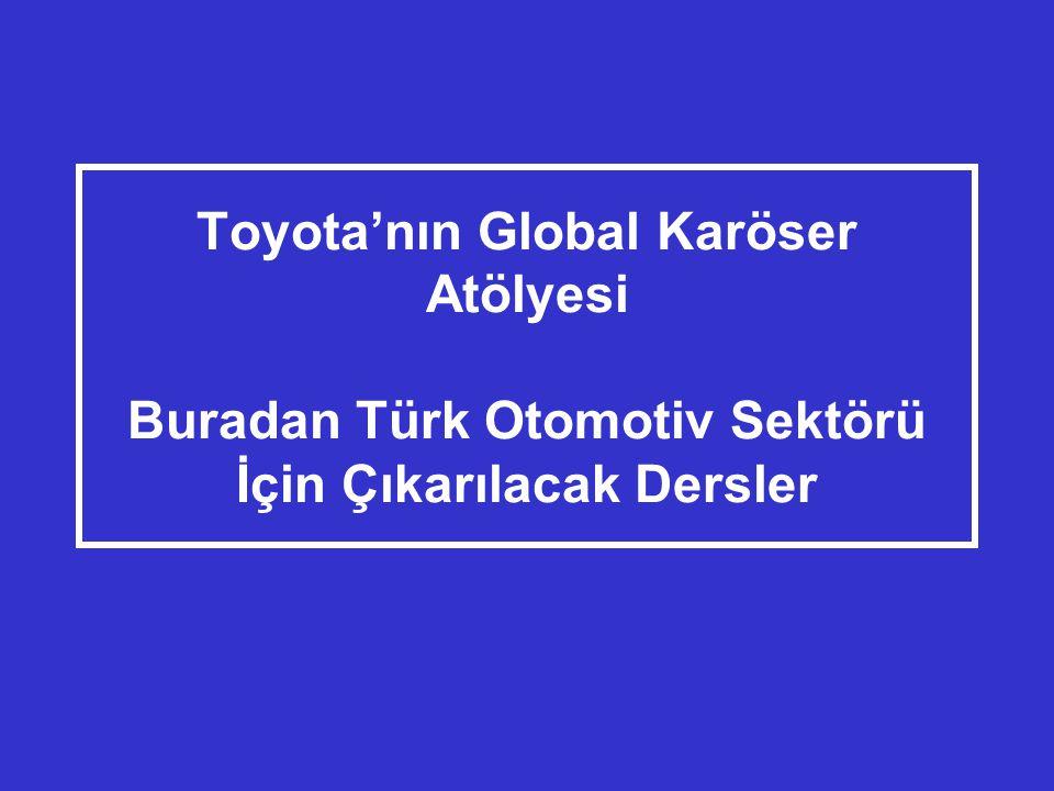 Toyota'nın Global Karöser Atölyesi Buradan Türk Otomotiv Sektörü İçin Çıkarılacak Dersler