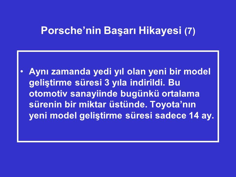 Porsche'nin Başarı Hikayesi (7)