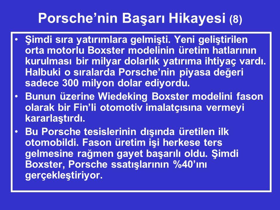 Porsche'nin Başarı Hikayesi (8)