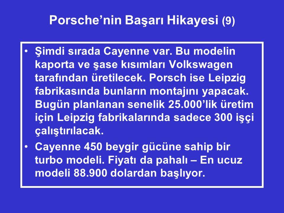 Porsche'nin Başarı Hikayesi (9)