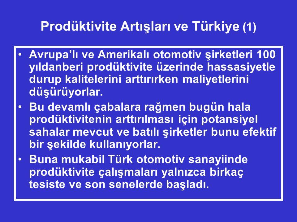 Prodüktivite Artışları ve Türkiye (1)