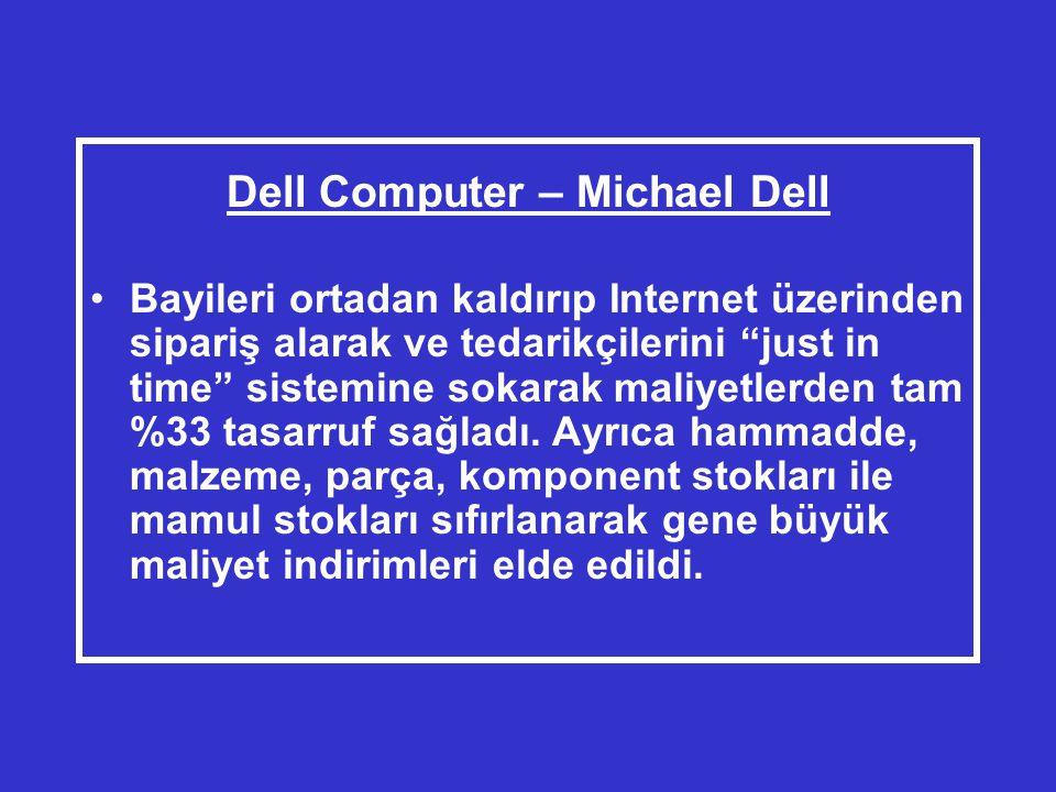 Dell Computer – Michael Dell