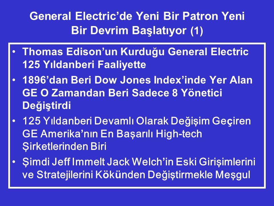 General Electric'de Yeni Bir Patron Yeni Bir Devrim Başlatıyor (1)