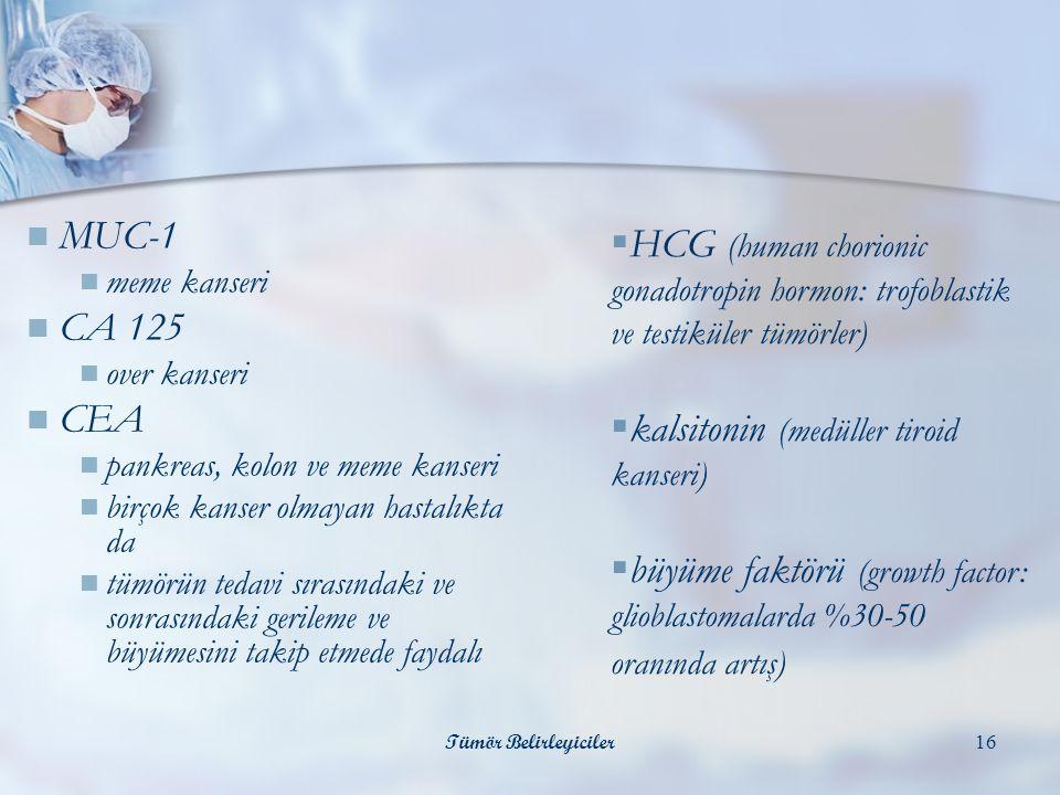 kalsitonin (medüller tiroid kanseri)