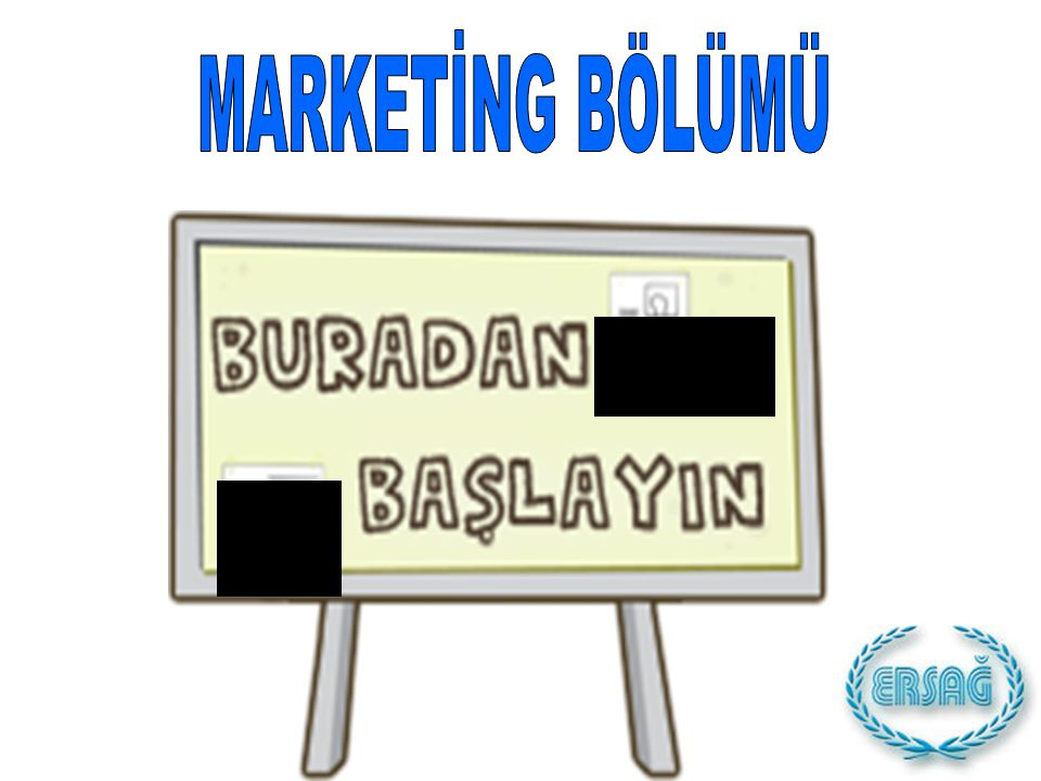 MARKETİNG BÖLÜMÜ