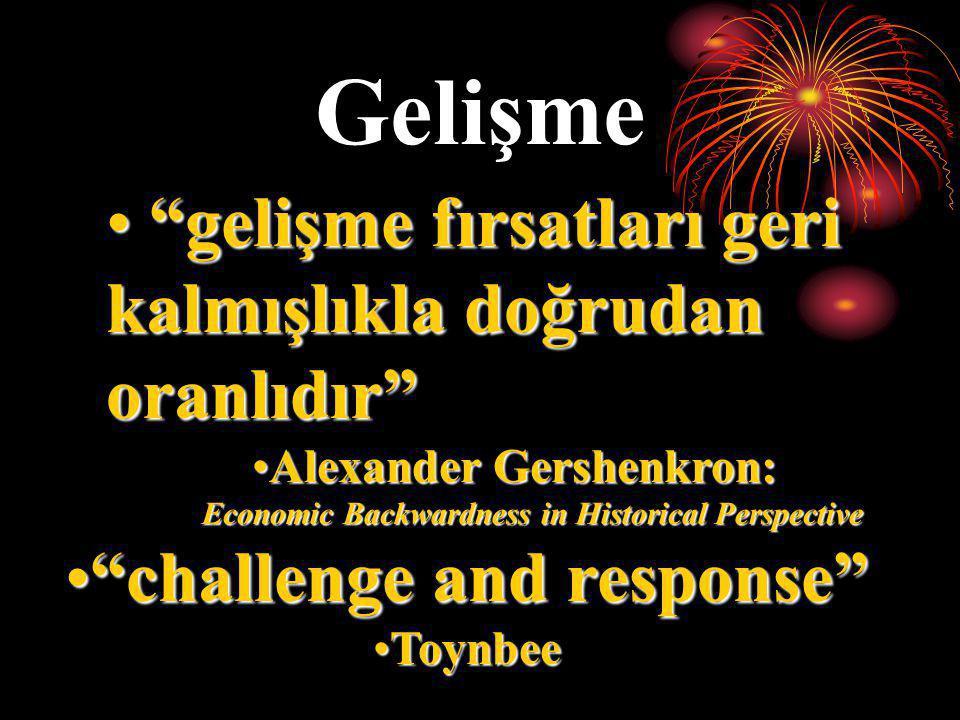Alexander Gershenkron: challenge and response