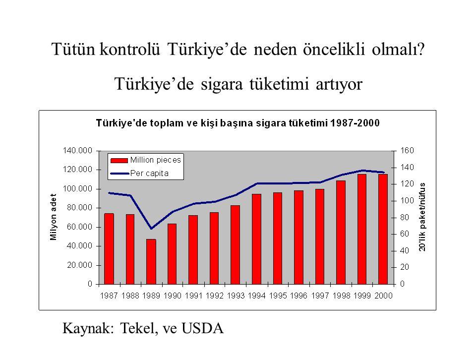 Tütün kontrolü Türkiye'de neden öncelikli olmalı