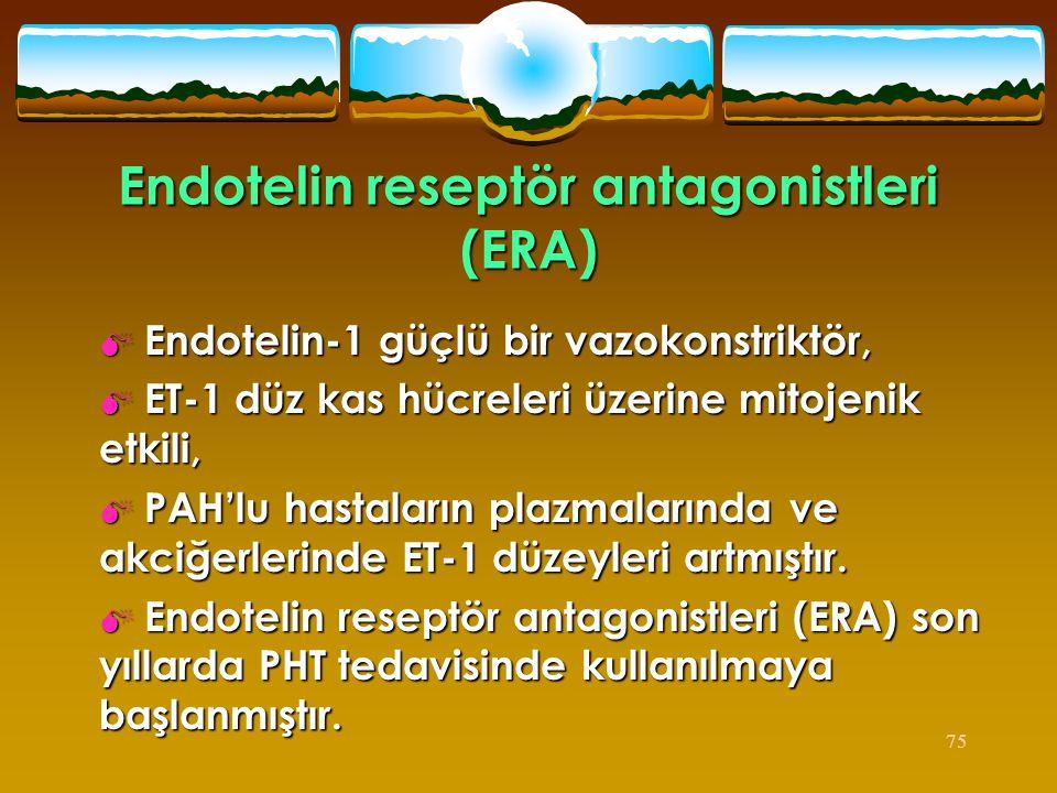Endotelin reseptör antagonistleri (ERA)