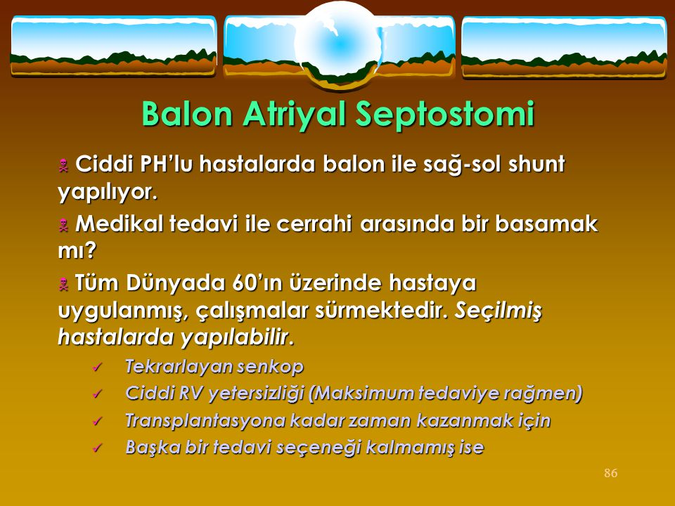 Balon Atriyal Septostomi