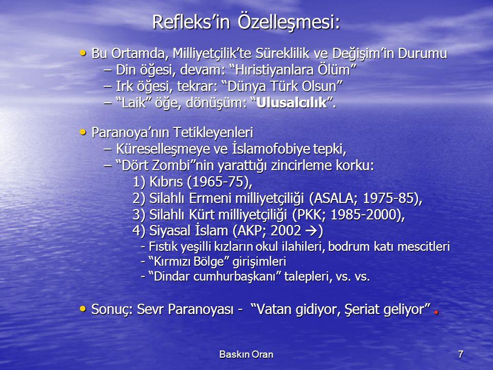 Refleks'in Özelleşmesi: