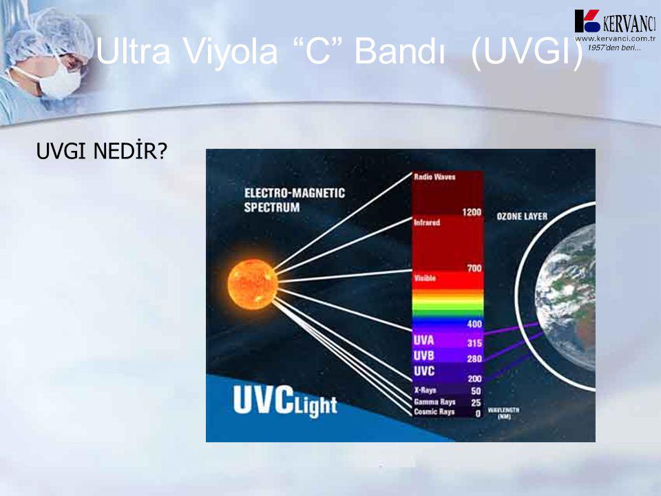 Ultra Viyola C Bandı (UVGI)