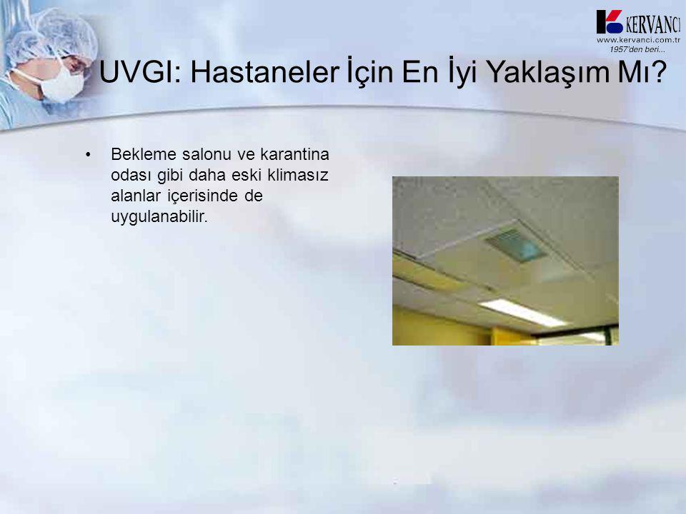 UVGI: Hastaneler İçin En İyi Yaklaşım Mı
