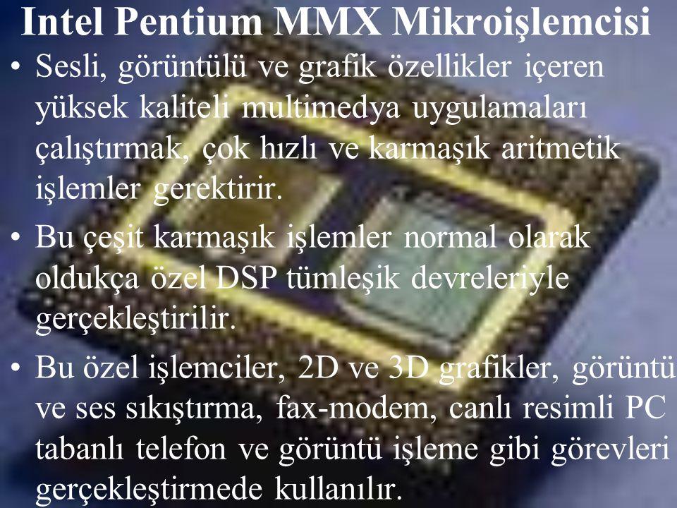 Intel Pentium MMX Mikroişlemcisi