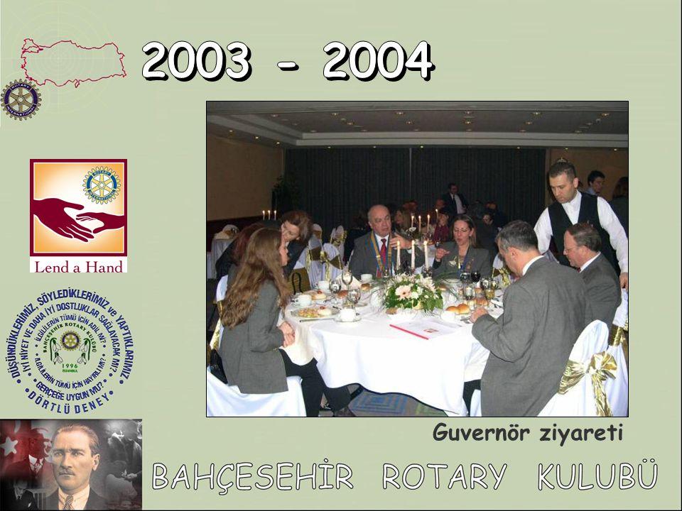 2003 - 2004 Guvernör ziyareti