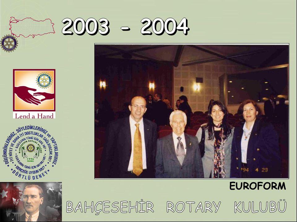 2003 - 2004 EUROFORM