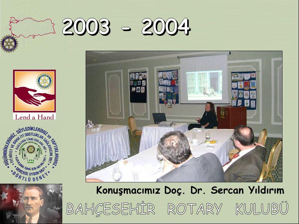 Konuşmacımız Doç. Dr. Sercan Yıldırım