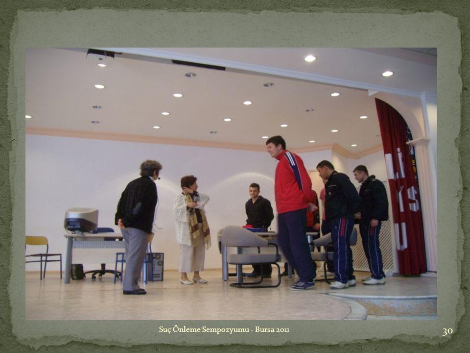 Suç Önleme Sempozyumu - Bursa 2011