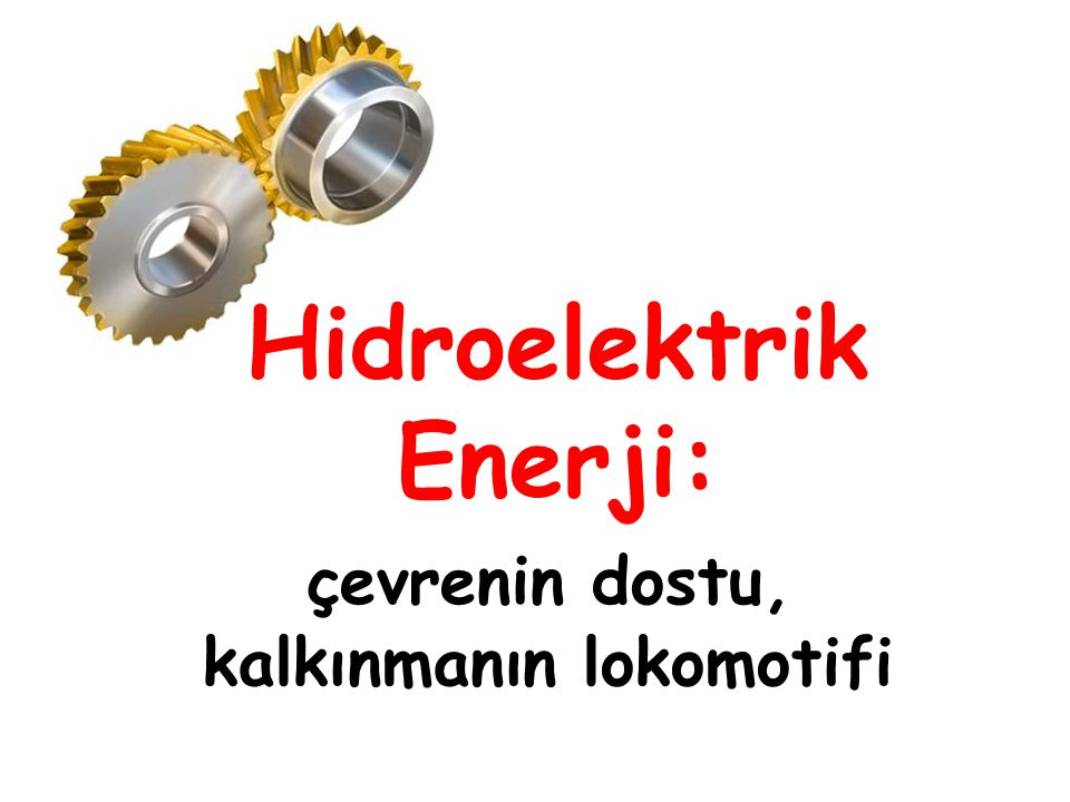 Hidroelektrik Enerji: