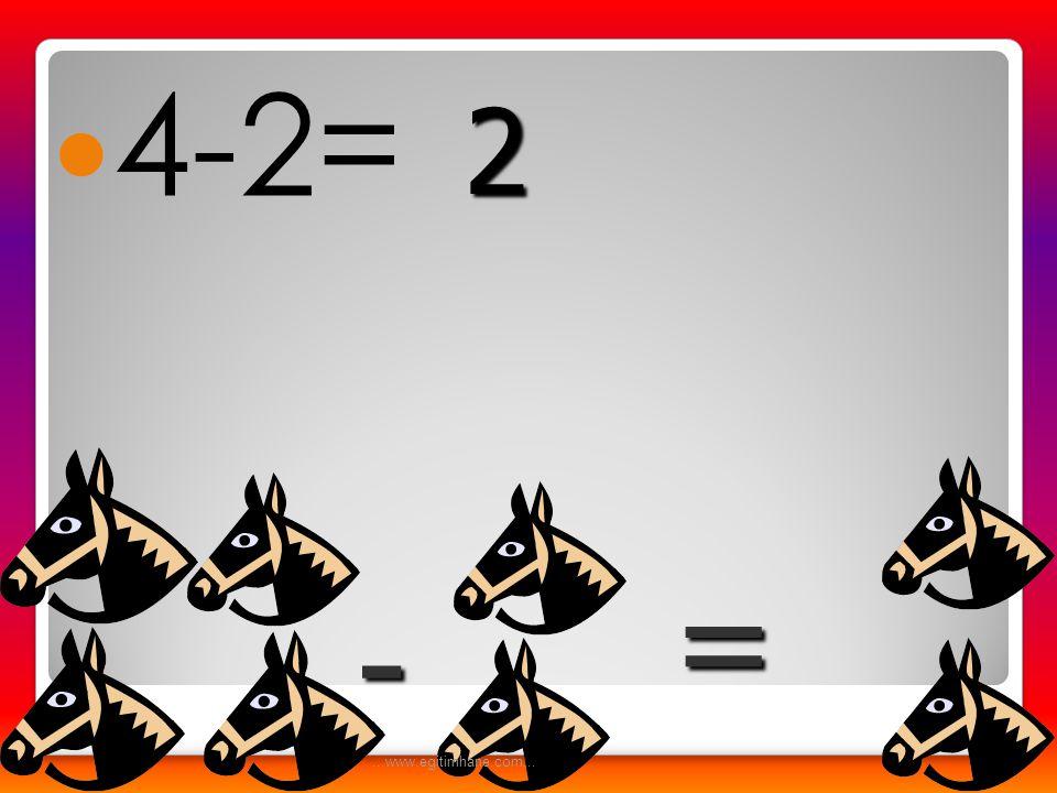4-2= 2 = - ...www.egitimhane.com...