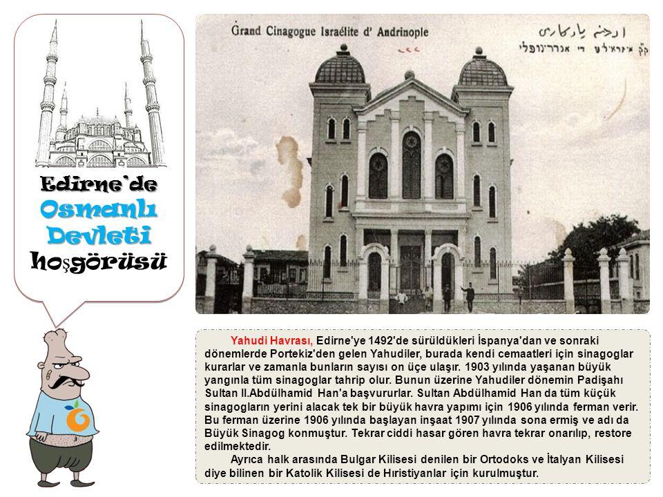 Osmanlı Devleti hoşgörüsü